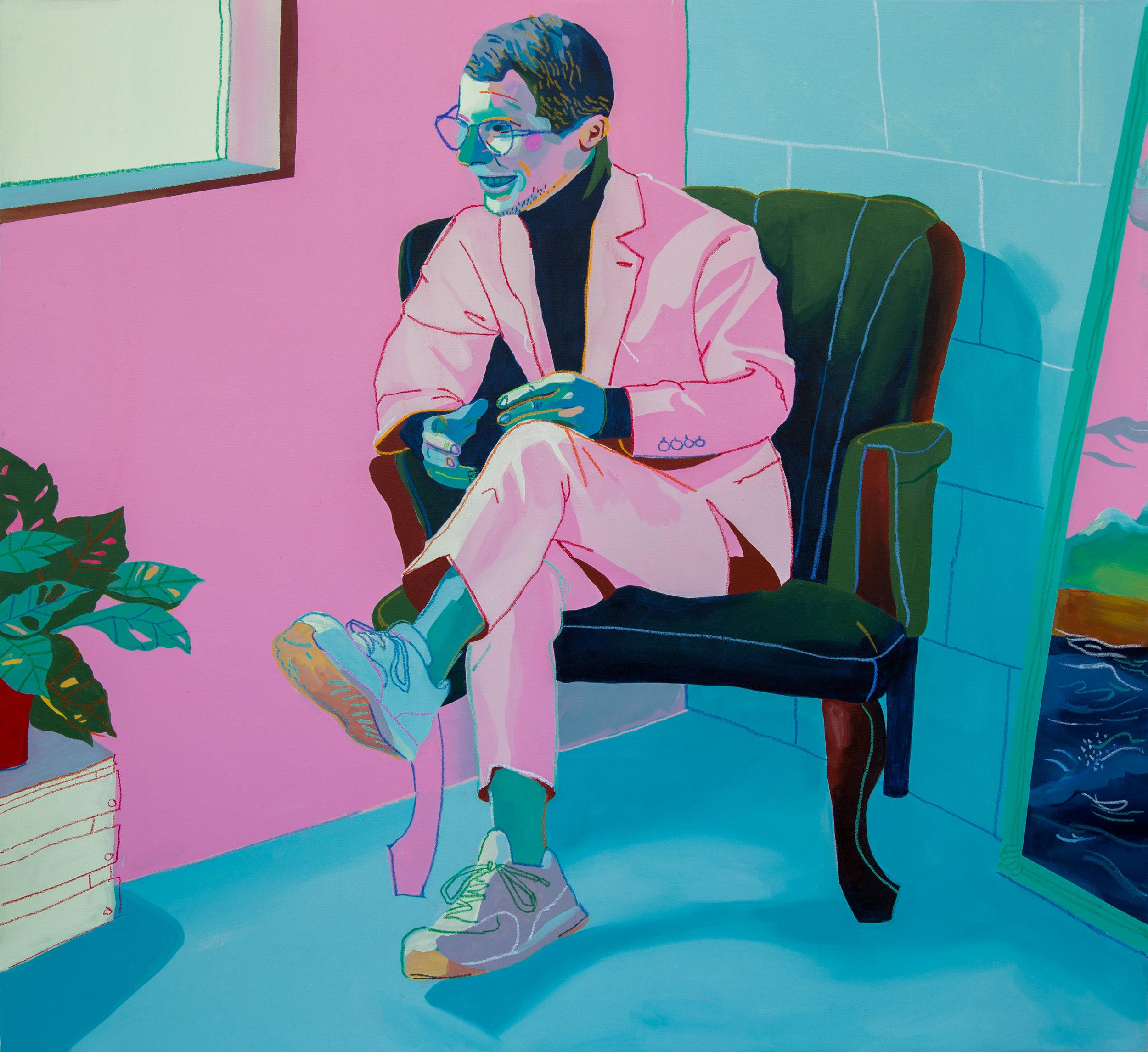 Pink Portrait, 2016