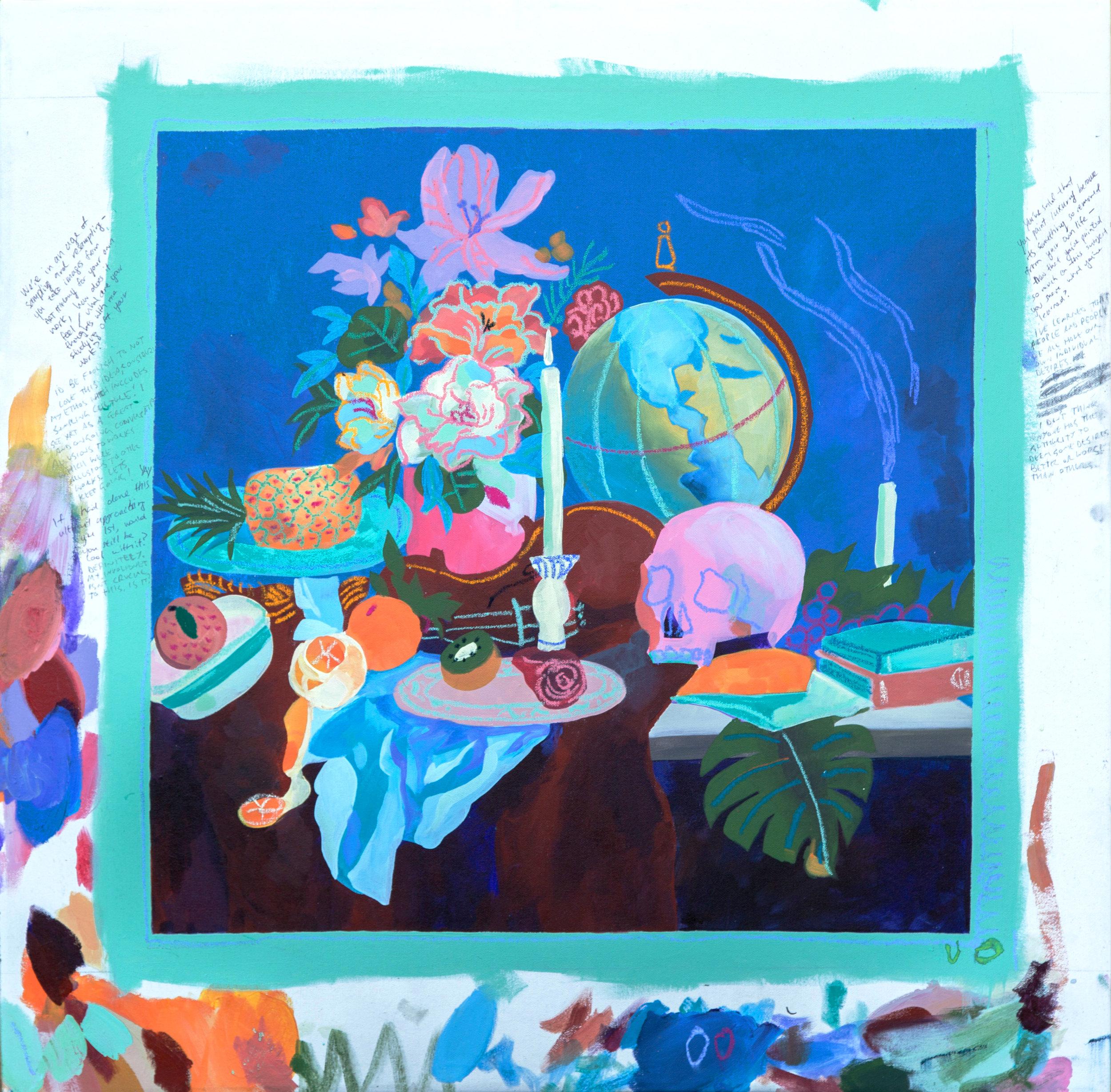 Study of Expensive Painting (Vanitas), 2016