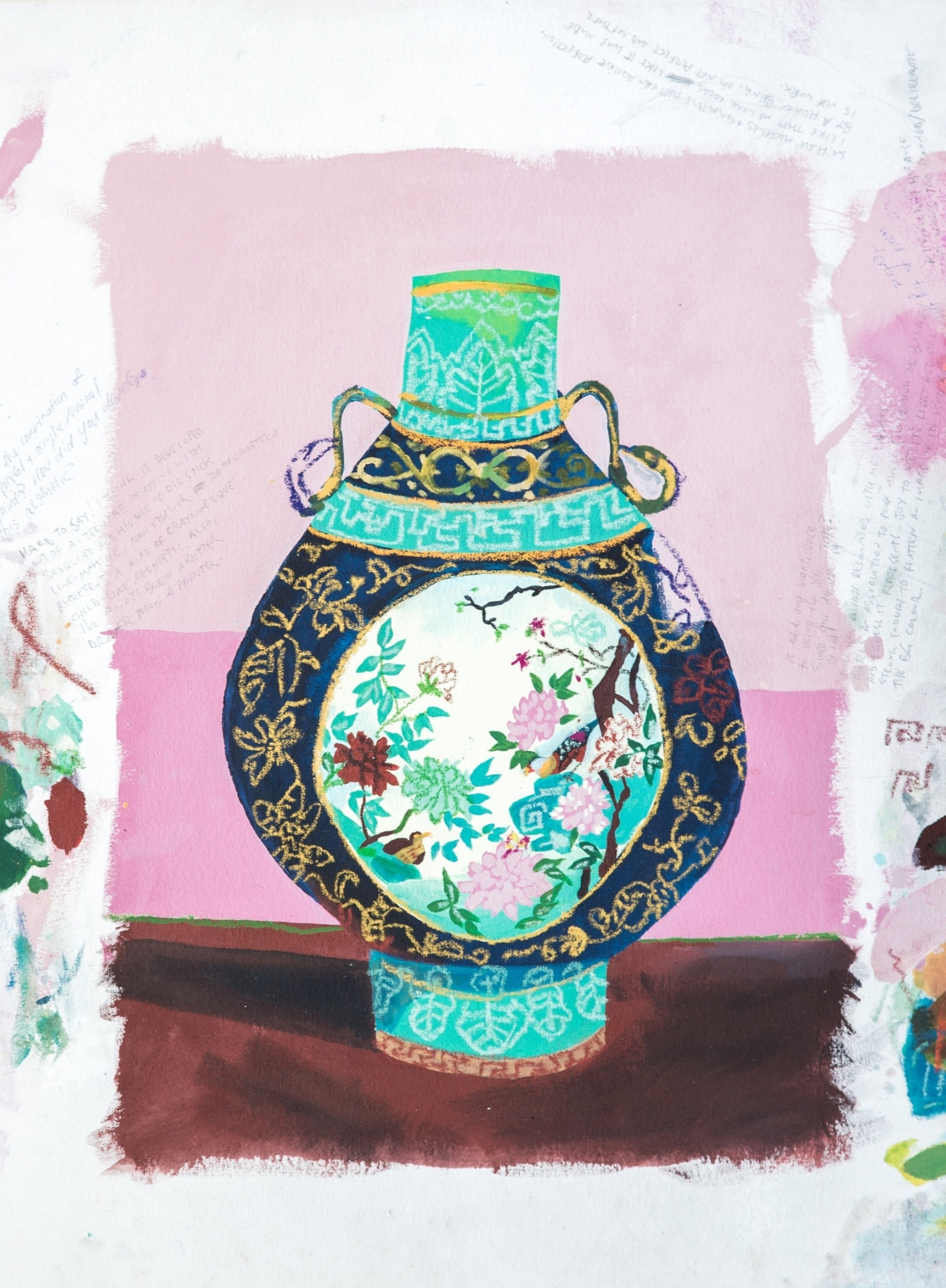 Study of Expensive Painting (Vase), 2016