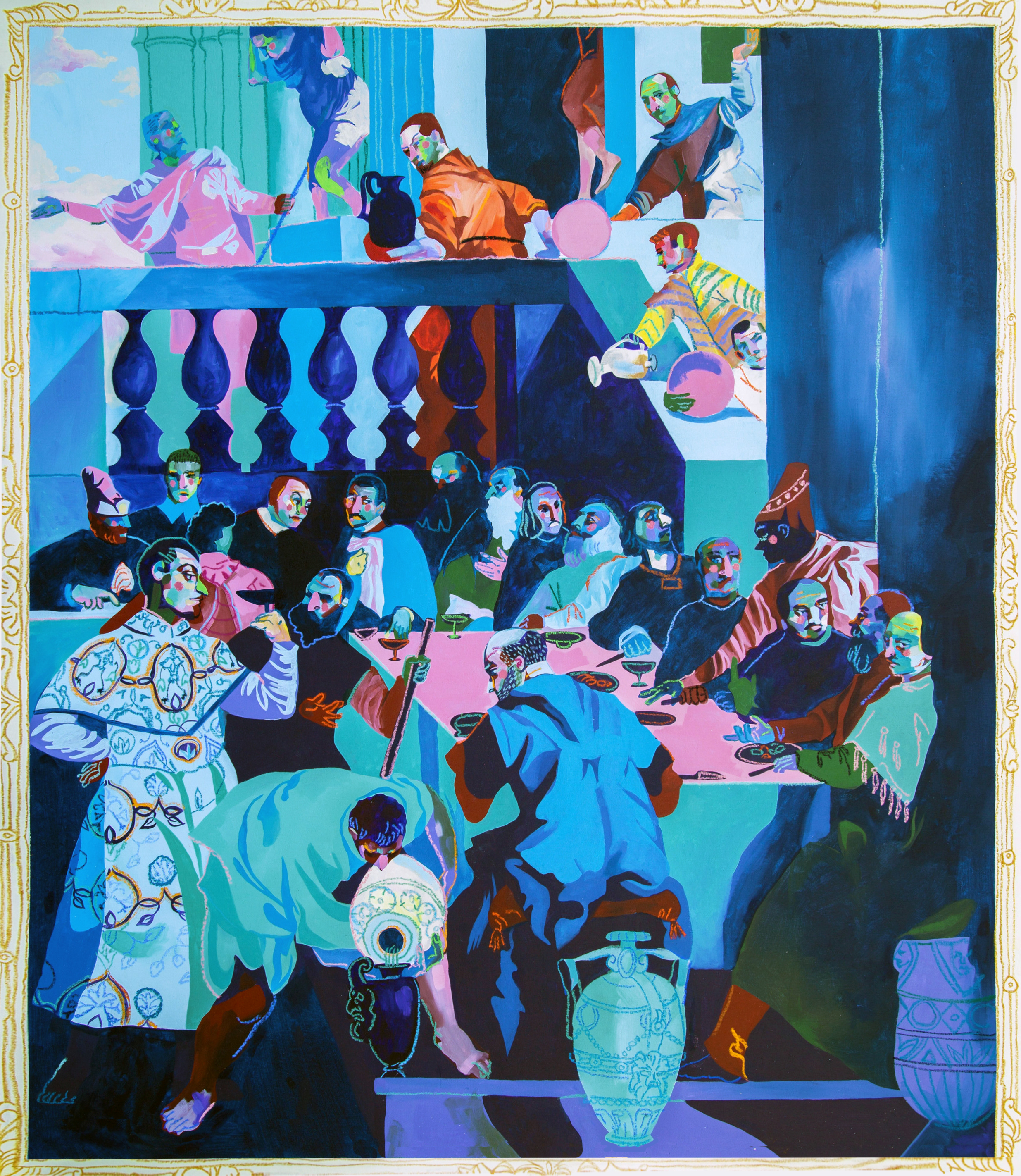 Expensive Painting (Wedding at Cana), 2016