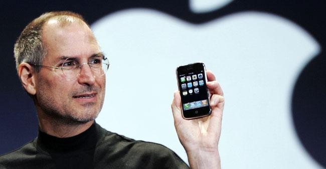 Apple iPhone, Steve Jobs