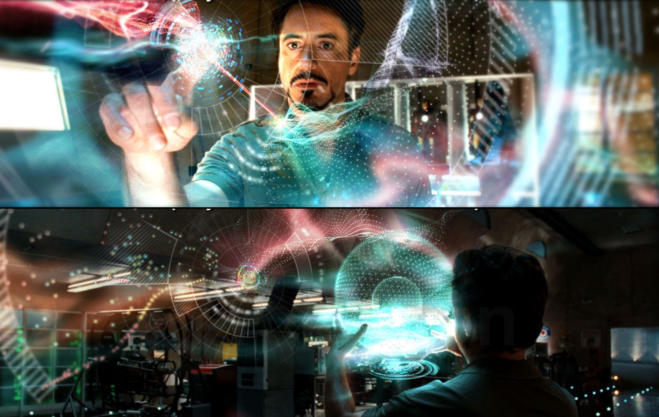 Iron Man 2, by Perception for Marvel Entertainment