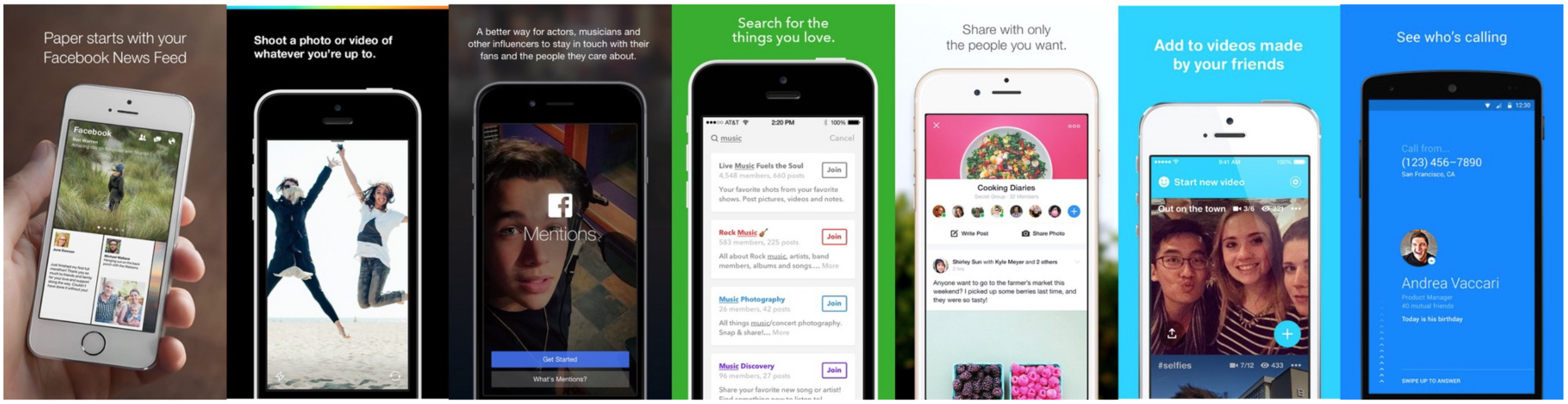 Facebook's Creative Labs Apps
