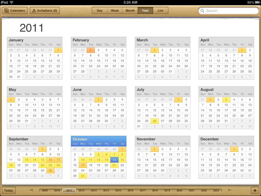 Nobody uses these calendars anymore.