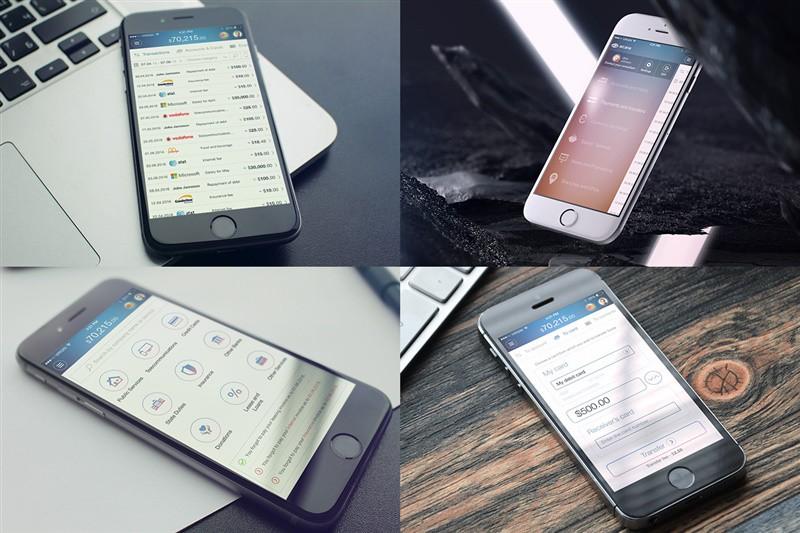iPhone banking