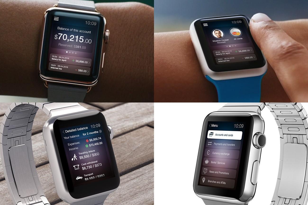 Apple Watch banking