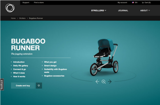 Photo Credit:    Bugaboo Strollers