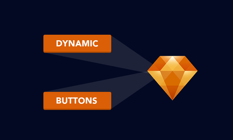 Dynamic buttons are one of the most notable features of Sketch