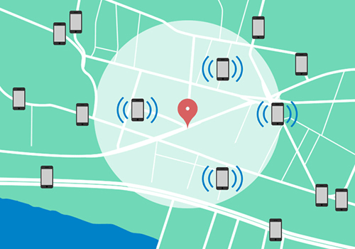 The combination of geolocation and push notifications opens a host of marketing options.