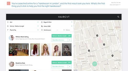 Usability Hub lets you set public tasks for your proposed design