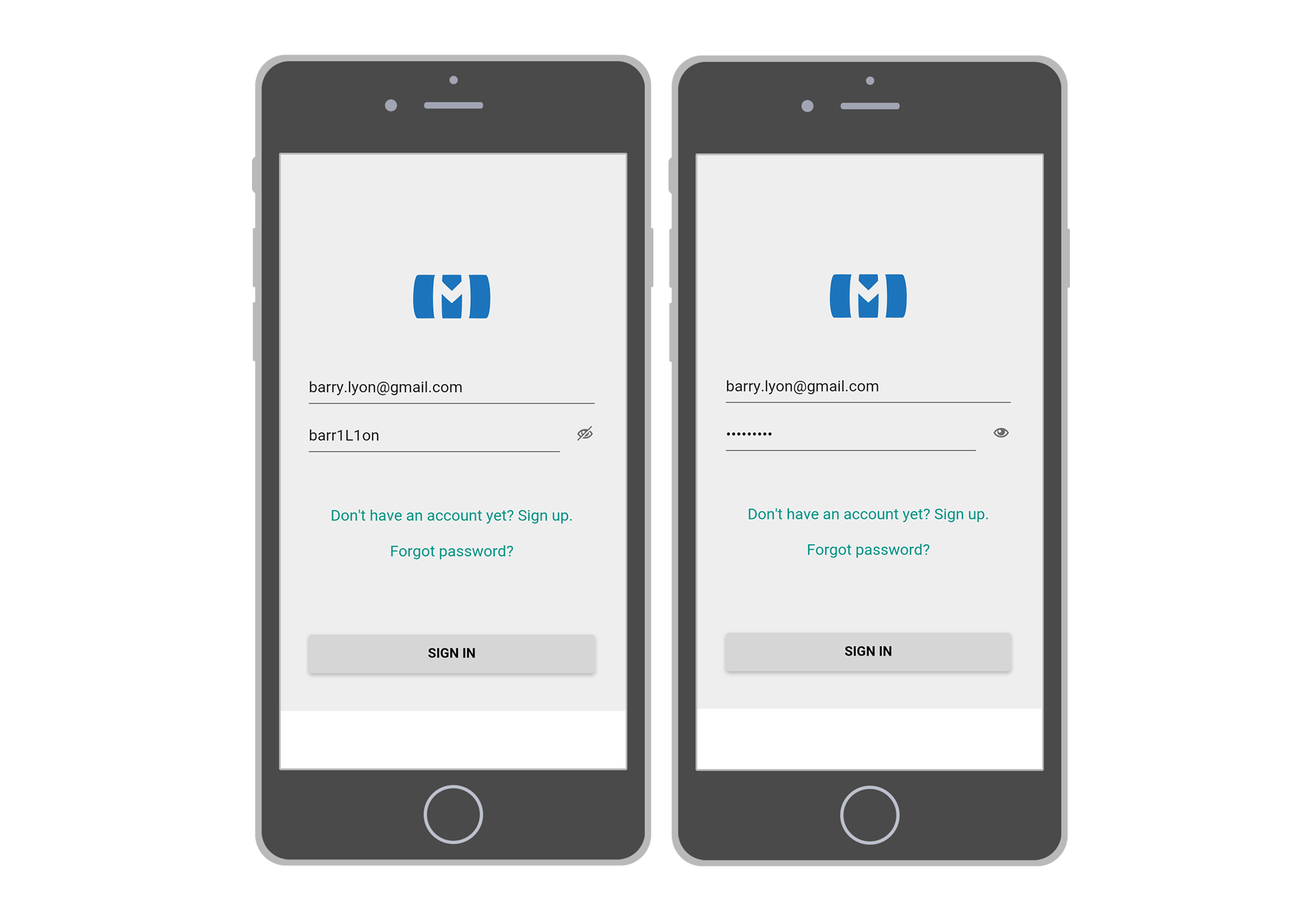 The UX of Password fields — D/UX