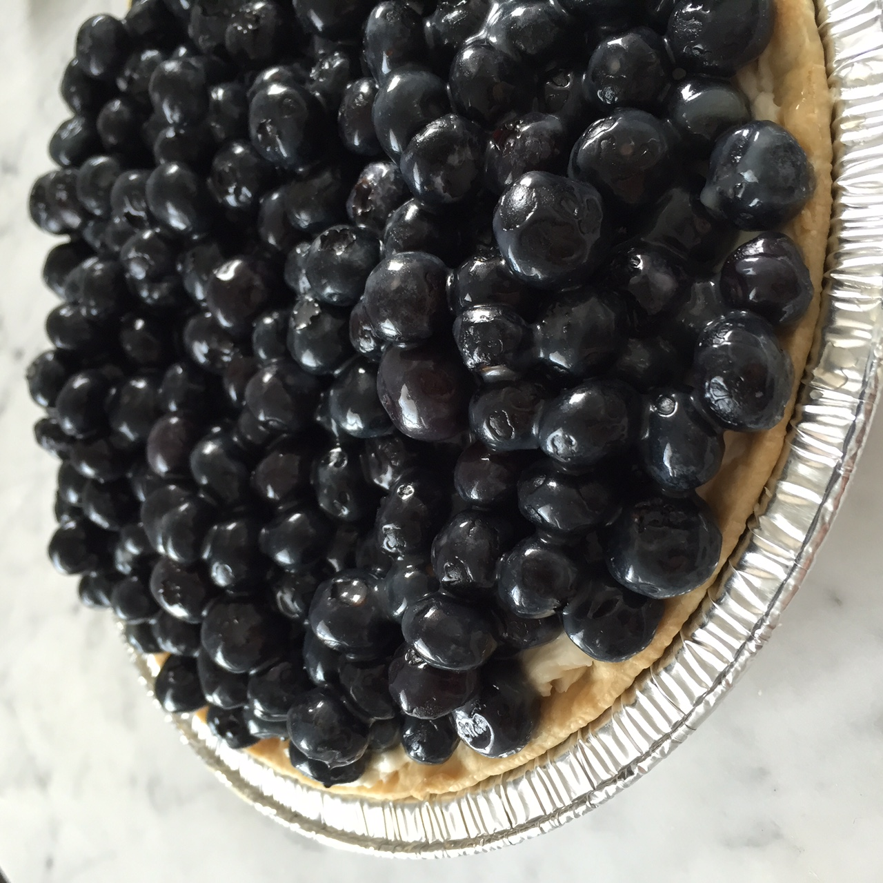 Blueberry Mascarpone Tart. Easiest dessert ever.  Photo: The Vancouverite