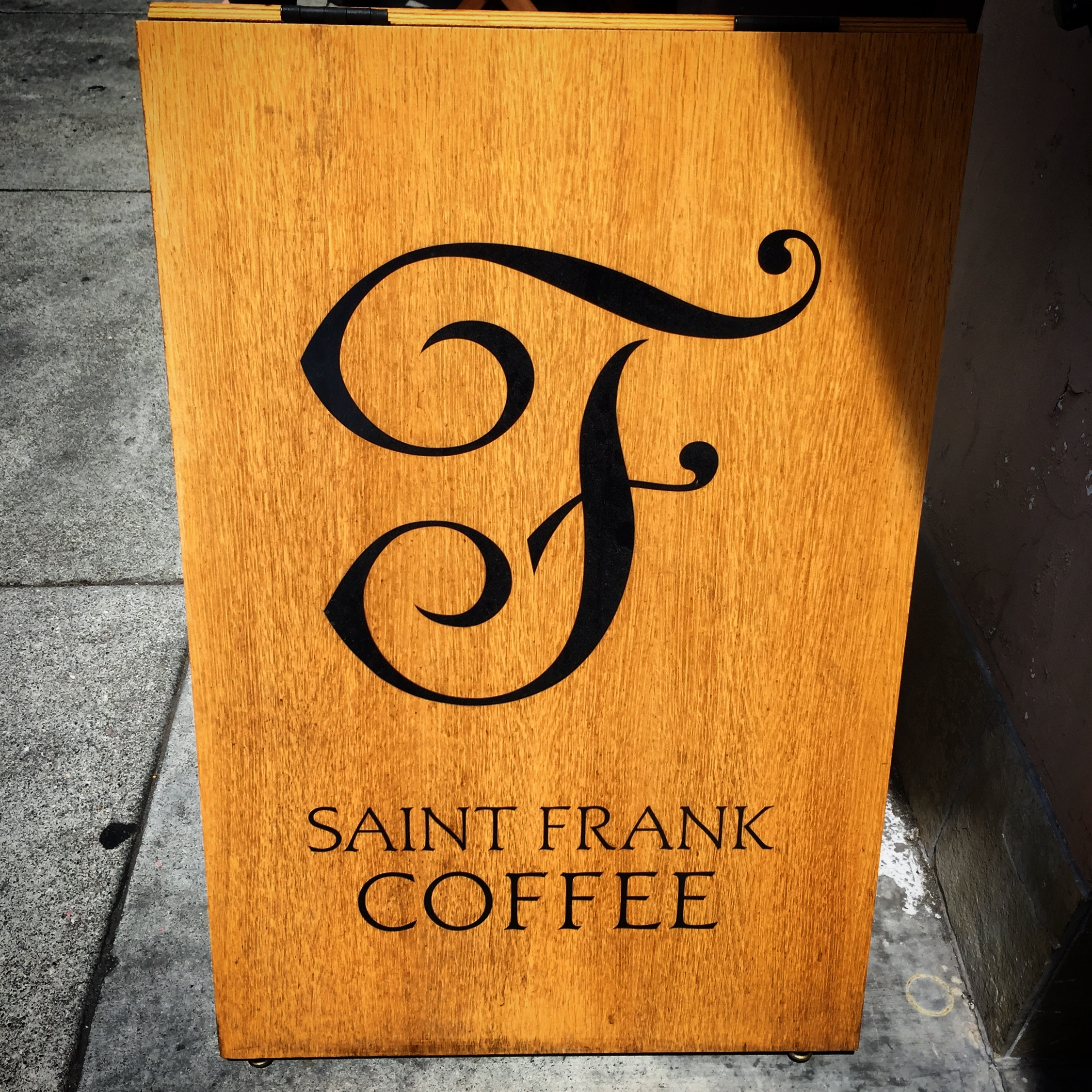 One of my favorite coffee joints in SF, on Polk.