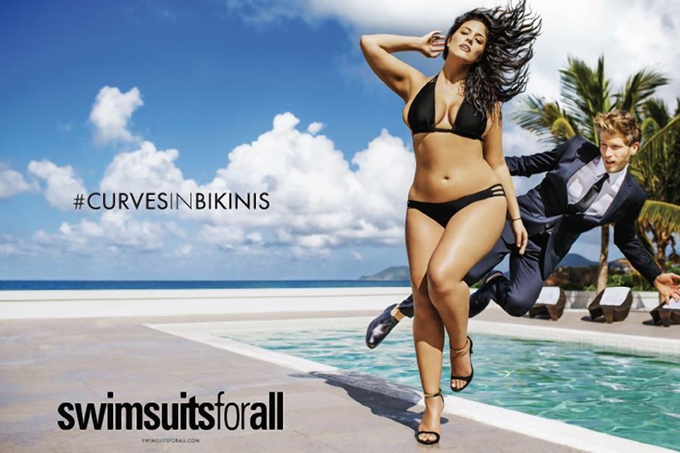 Model Ashley Graham. Photo: Swimsuits For All