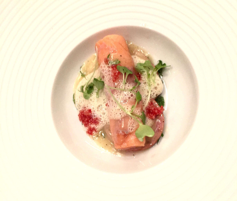Trout with lyonnais, arugula and lemon butter.  Photo: The Vancouverite