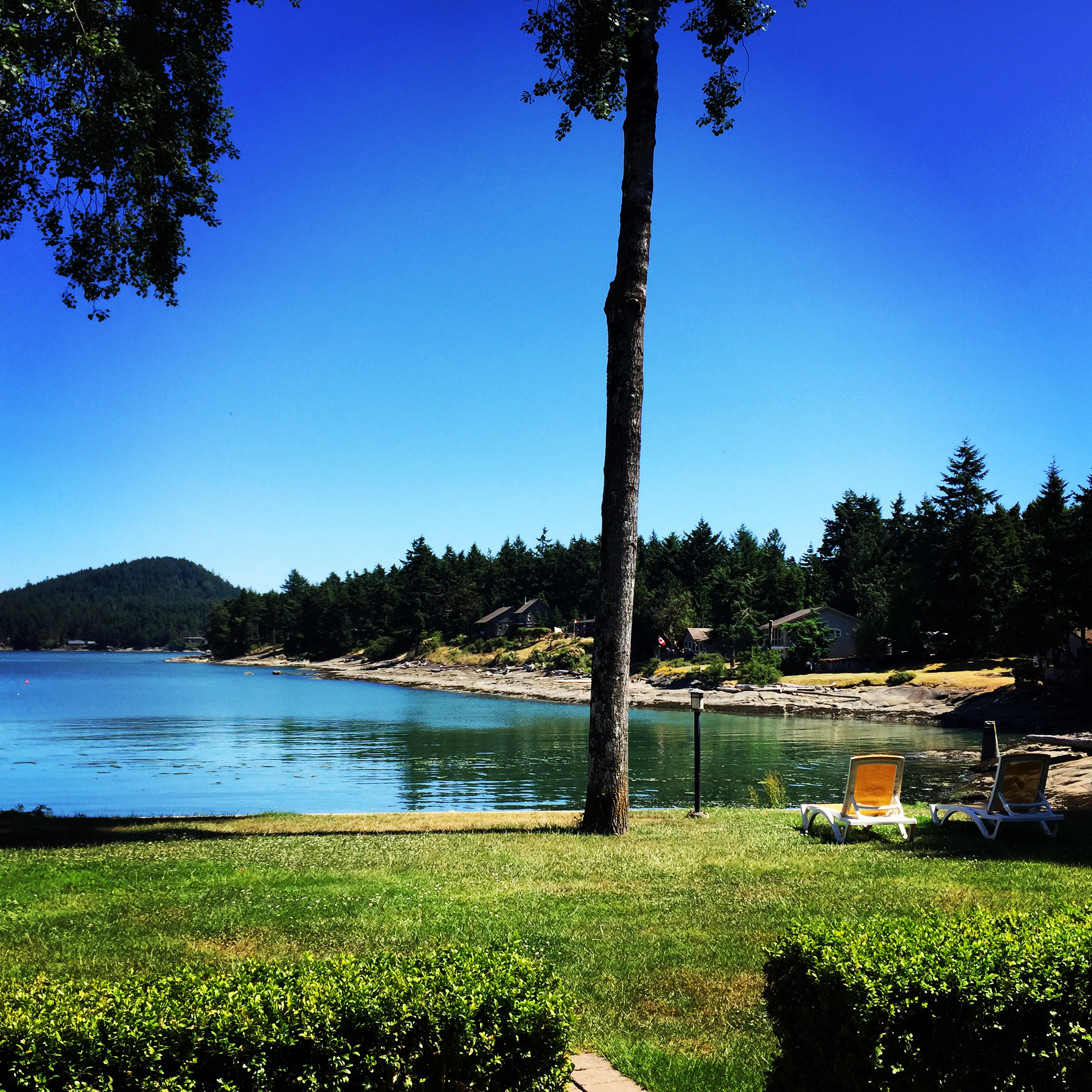 The view from our villa. Not too shabby.  Photo: The Vancouverite