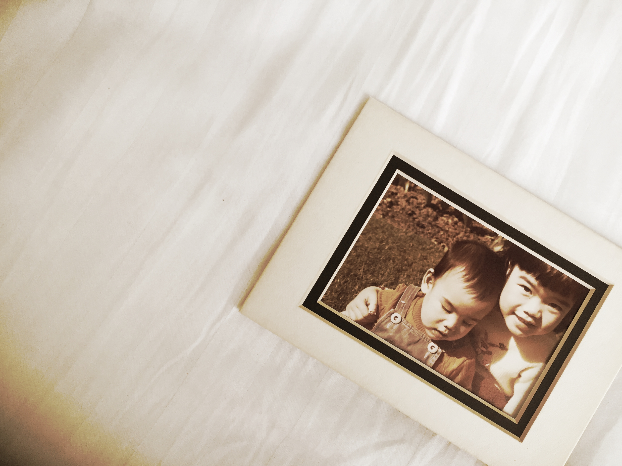 Here I am, five years old with my baby brother. Photo: The Vancouverite