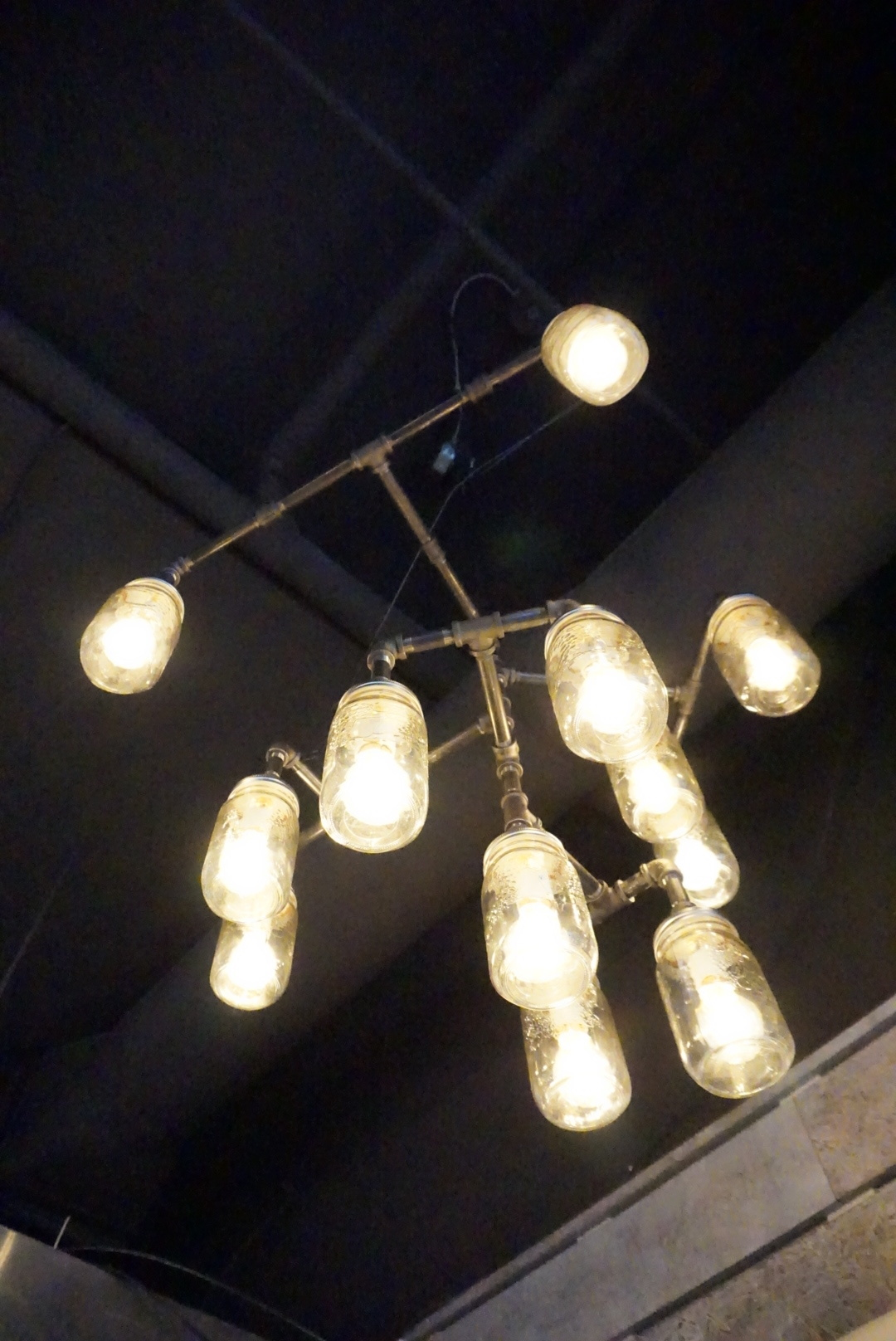 All the lighting at Tangram was designed and constructed by Mike Wong and his team.