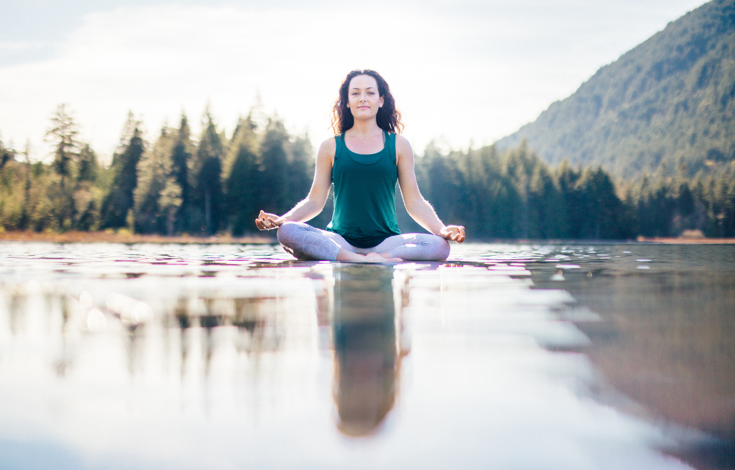 Andrea Clark, owner of Nectar Yoga B&B. Photo courtesy of Nectar Yoga.