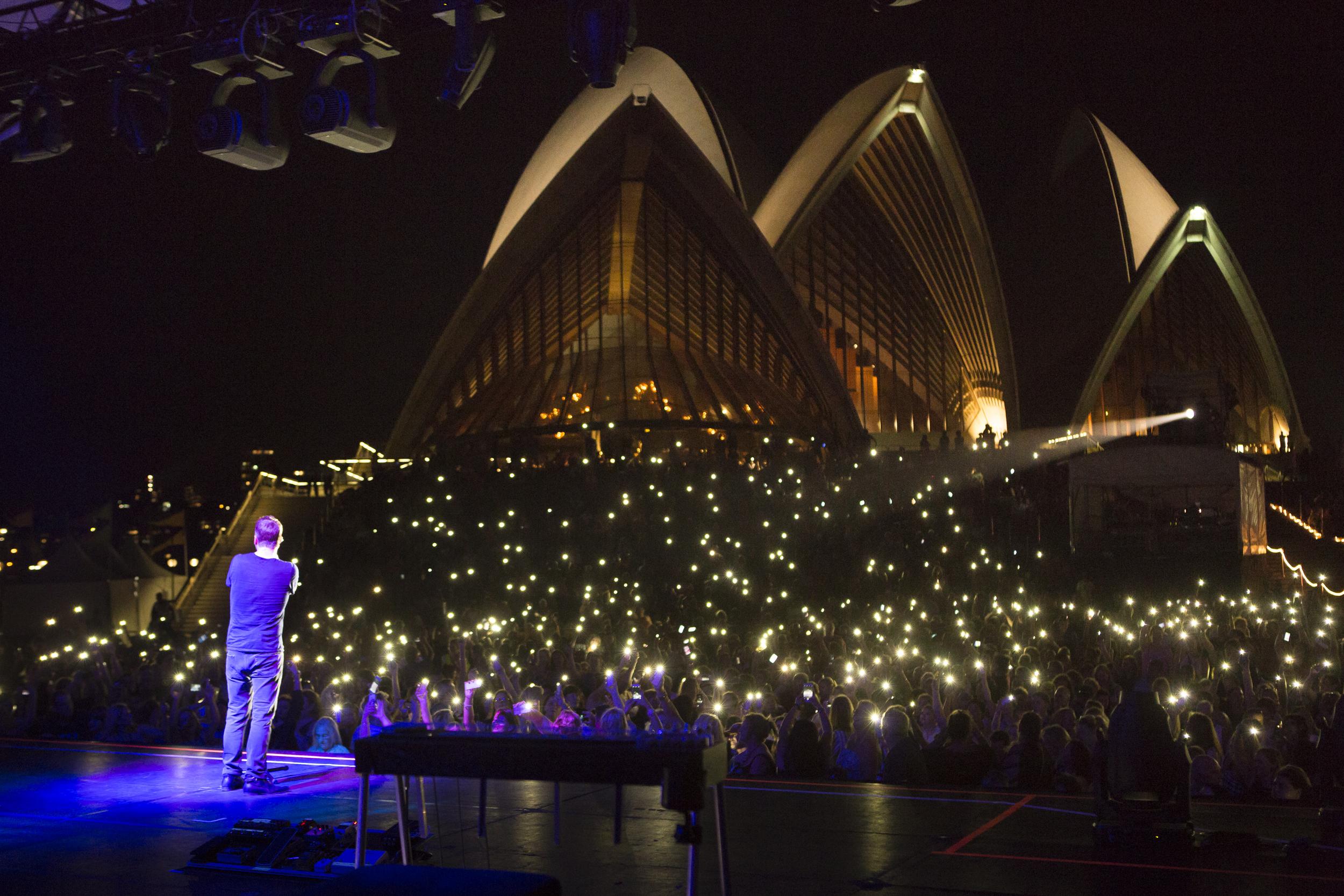 Rob Thomas at the Sydney Opera House