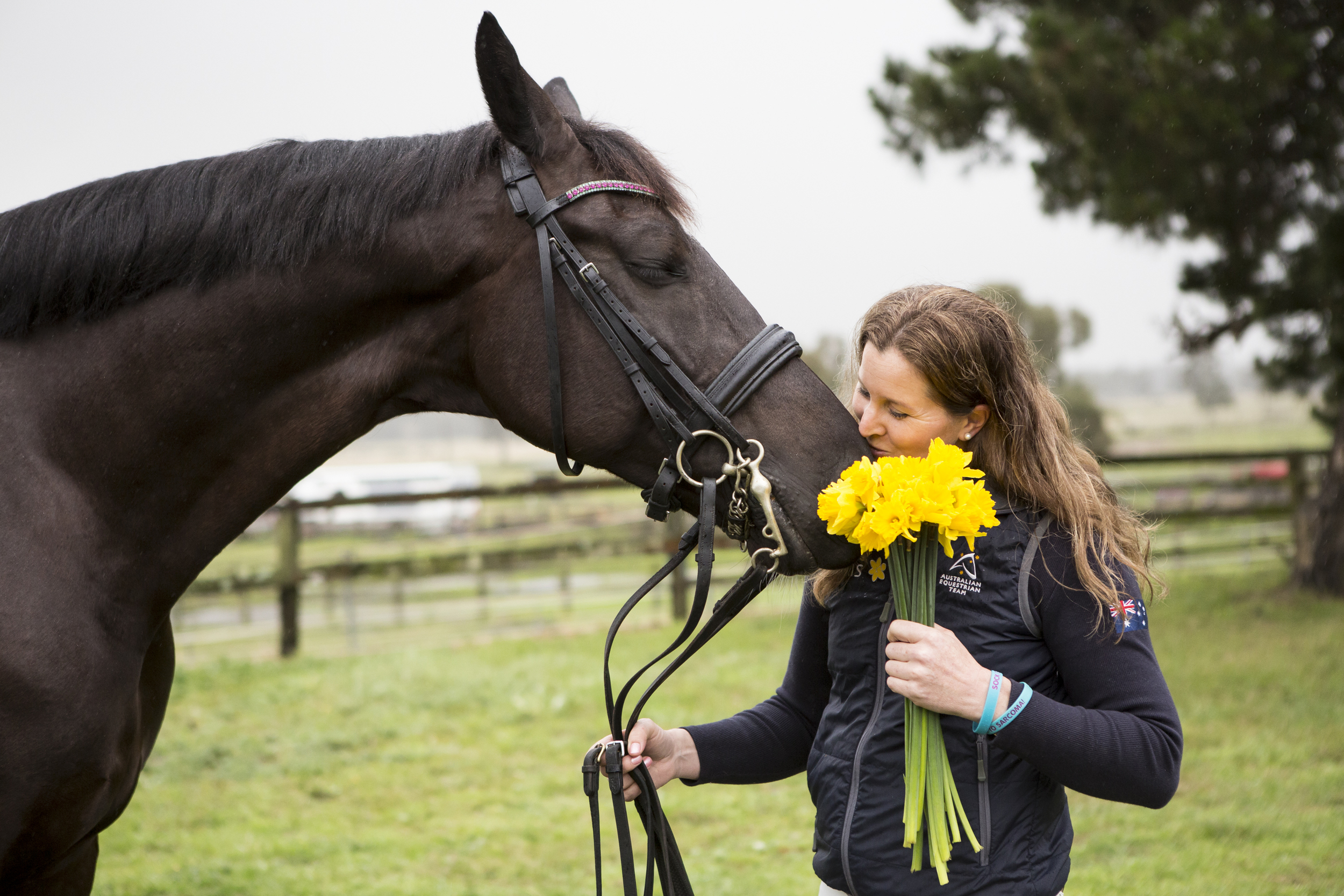 Australian Paralympian Sharon Jarvis photographed for Cancer Council