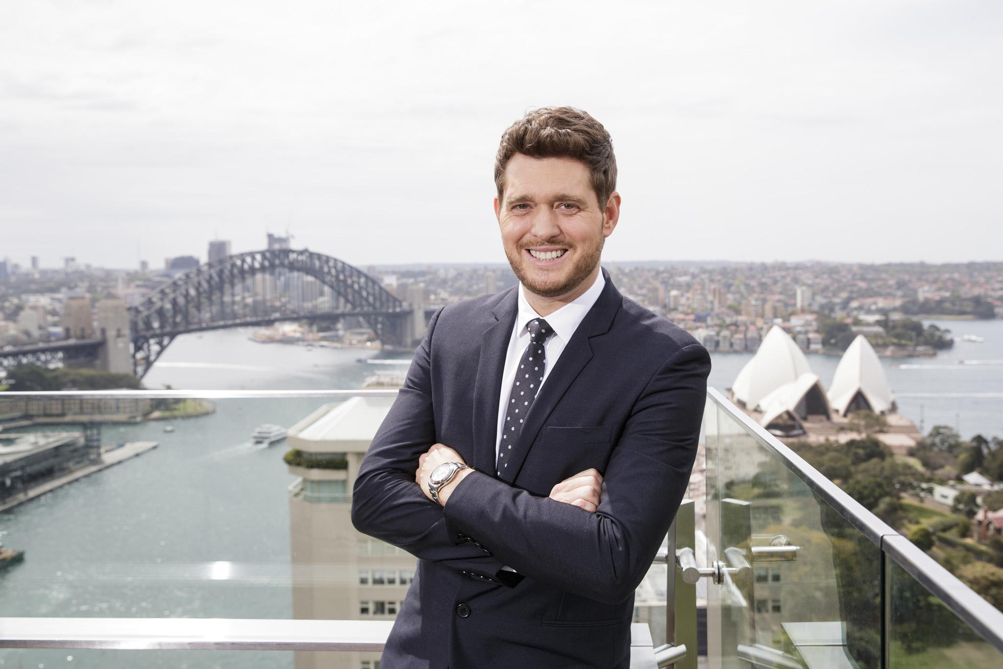 Michael Buble for Warner Music Australia