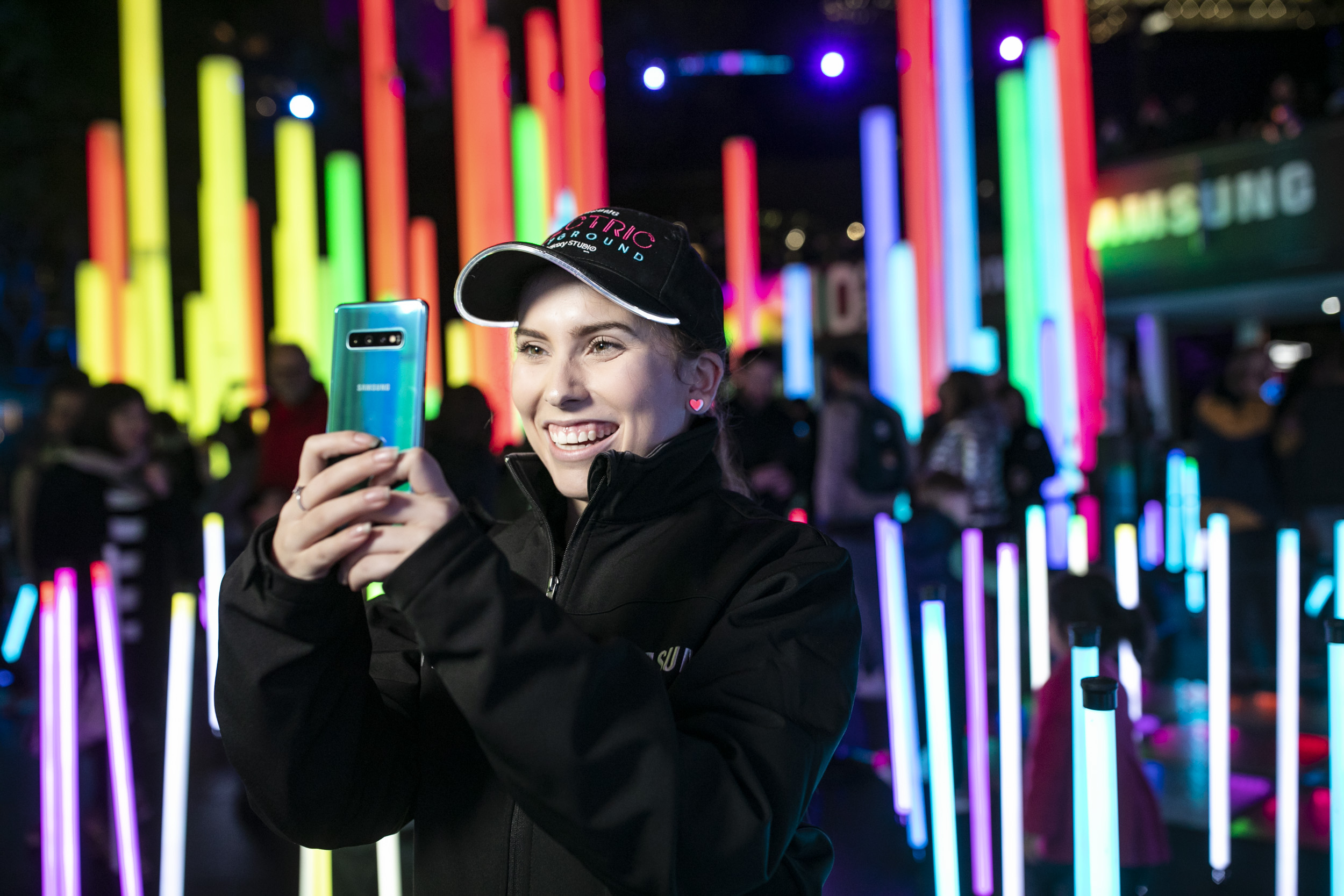 Samsung Electric Playground at Vivid Festival - Shot for Samsung