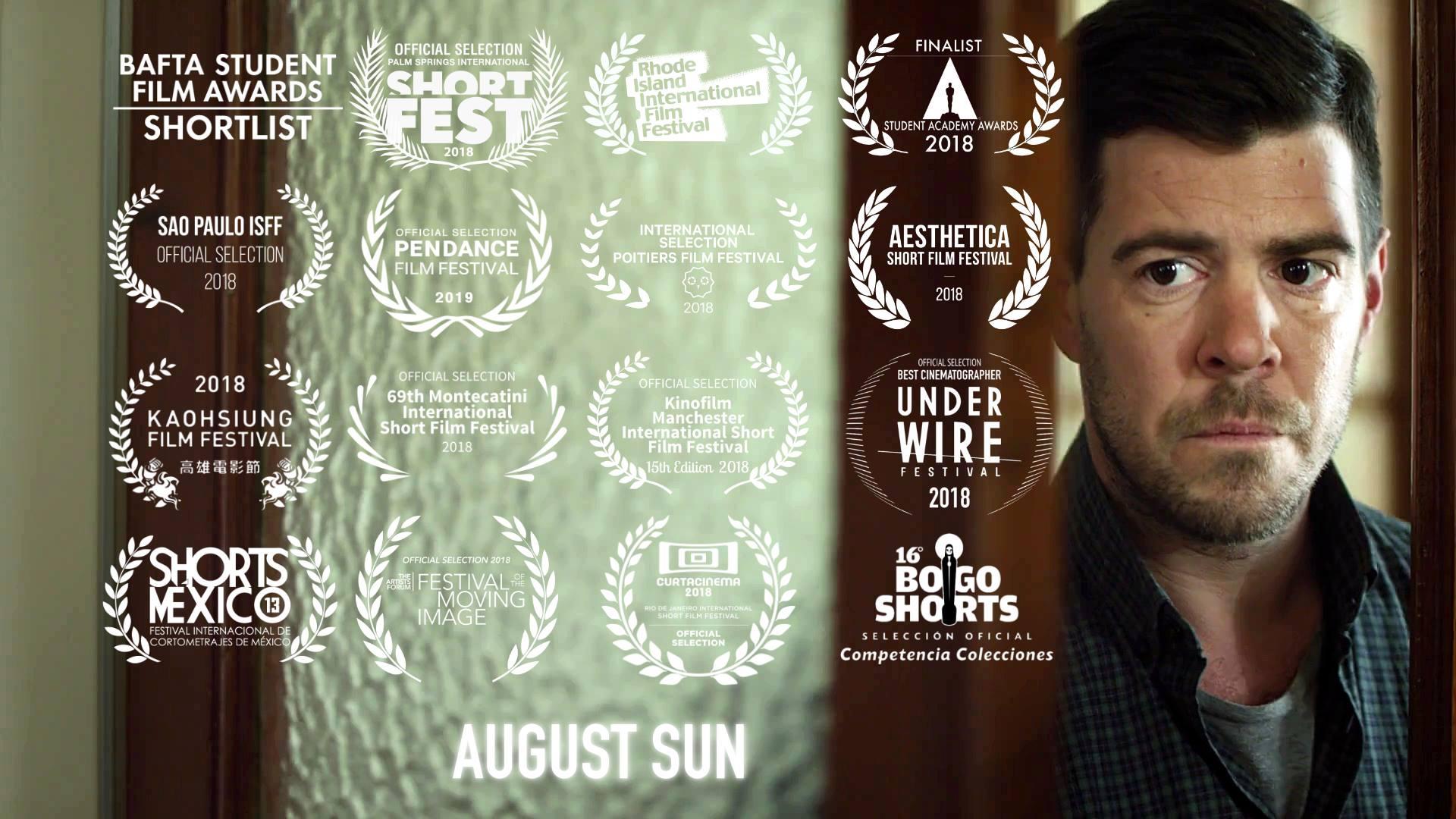 August Sun - by Franco Volpi- Finalist Student Academy Awards 2018- Shortlisted BAFTA Student Awards 2018- Aesthetica Short Film Festival 2018