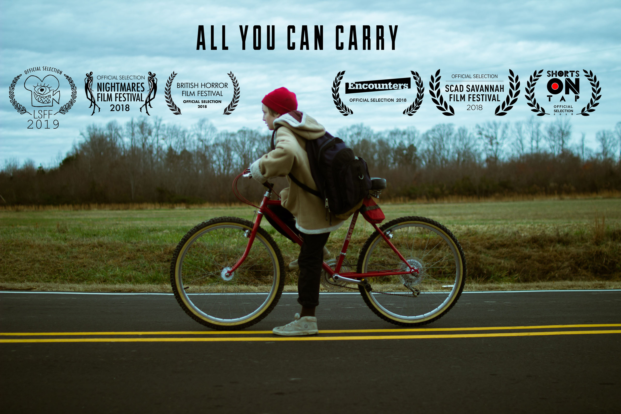All You Can Carry - by Andrew Rose- Best Student Film Award - British Horror Film Festival 2018- SCAD Savannah Film Festival 2018- Encounters Film Festival 2018- Mixed in Dolby Atmos in Pinewood Studios