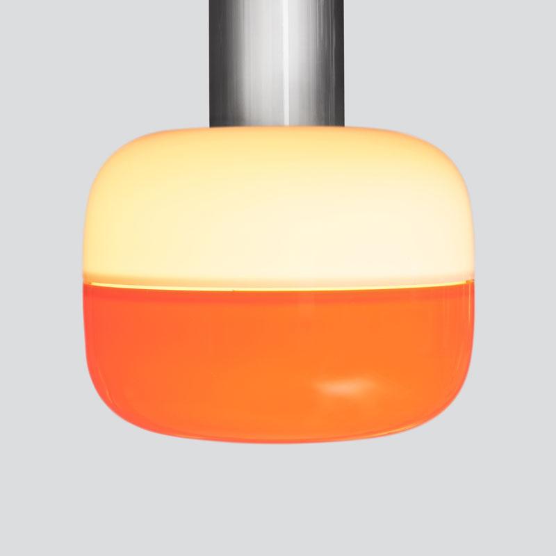 Opal Top/<br>Orange Bottom