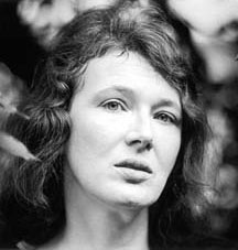 Angela Carter. From the Fay Godwin Archive at the British Library