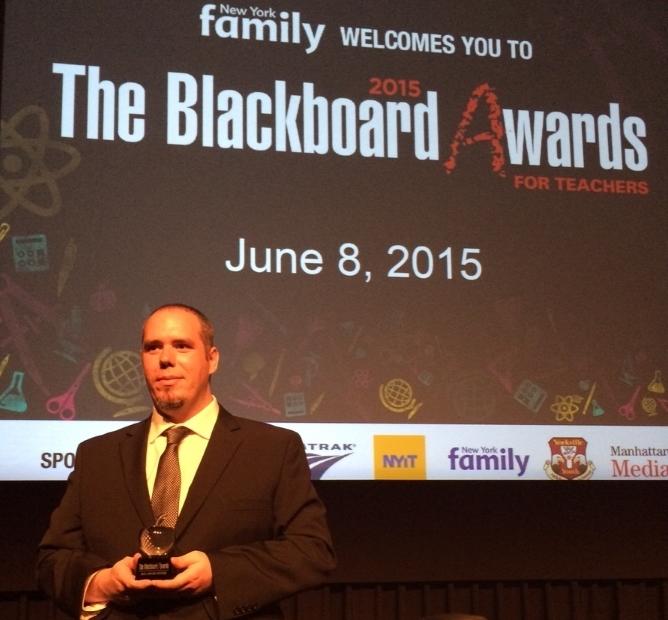 Mr Gaboriau Blackboard Award
