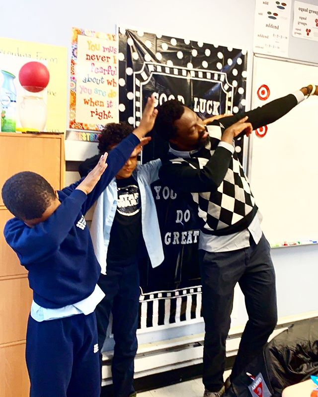 Good times in #thirdgrade with Mr. Dianda 🤗 #nyfacs #harlem #kids #students #kidstagram #newyorkfrenchamericancharterschool #dance #silly #teachersofinstagram #teachers #students #education #goodtimes #instagood #instalike #school #bilingual #bestoftheday #photooftheday #follow #follownow #following
