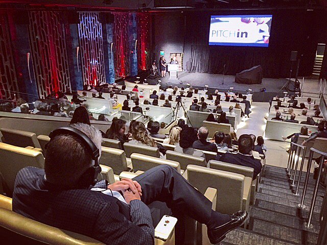 Great event tonight for the #powerlaunch #pitchin we are proud to be providing #audiovideo services and to be a #supporter of this great project. #eventproduction #videosupport #av #nonprofits #entrepreneur #.jpg