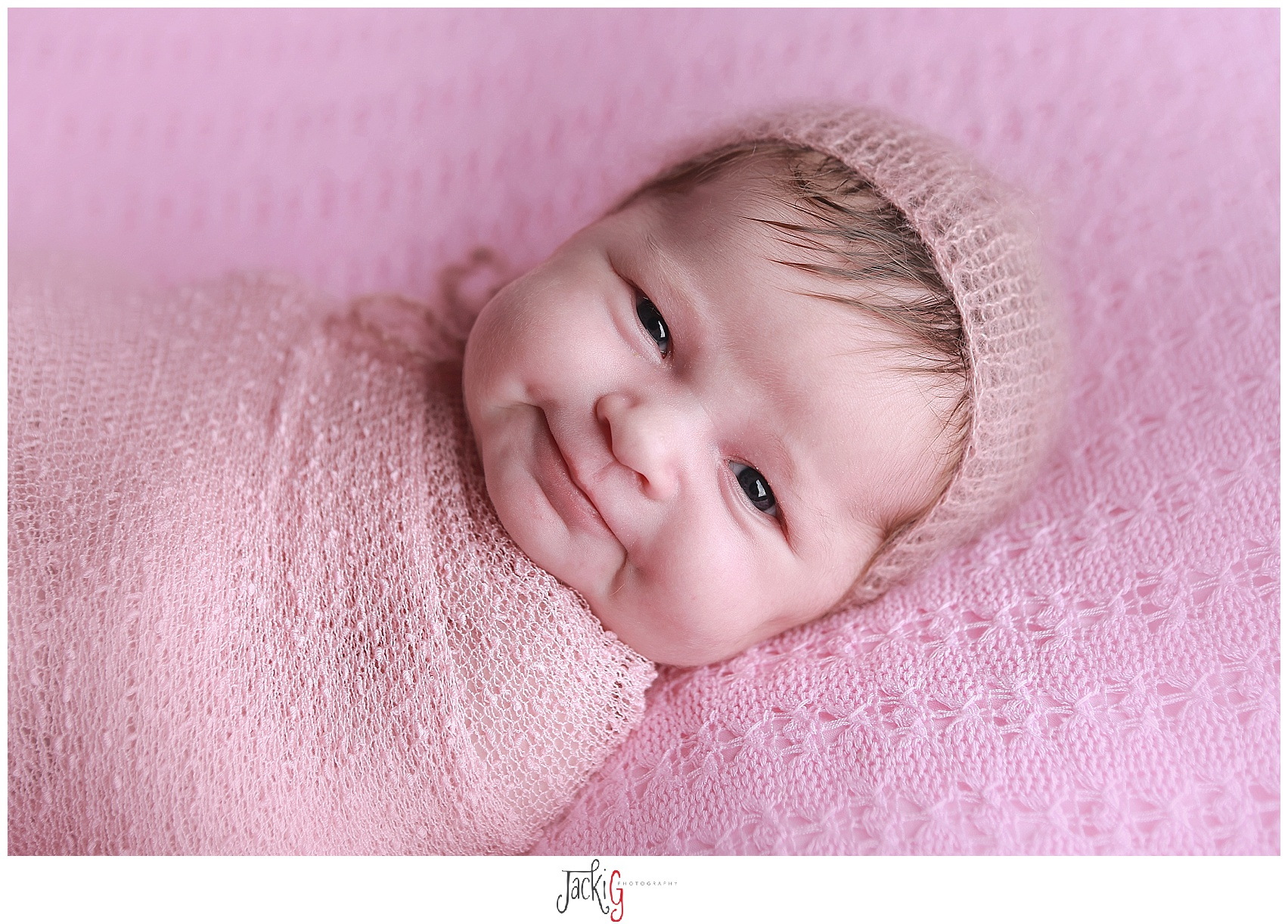 newborn smiles are the best!