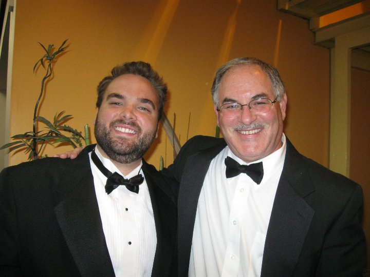 Myself and Neil Grover of the Boston Pops Esplanade Orchestra and founder of  Grover Pro Percussion
