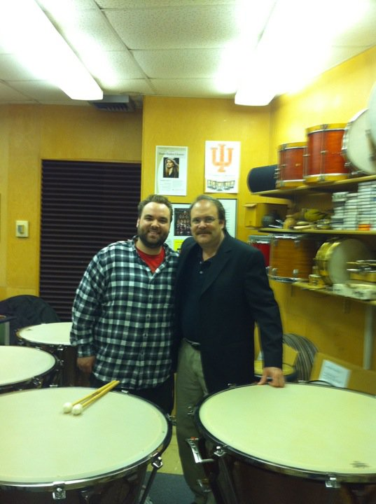 My last lesson with  John Tafoya  at Indiana University.