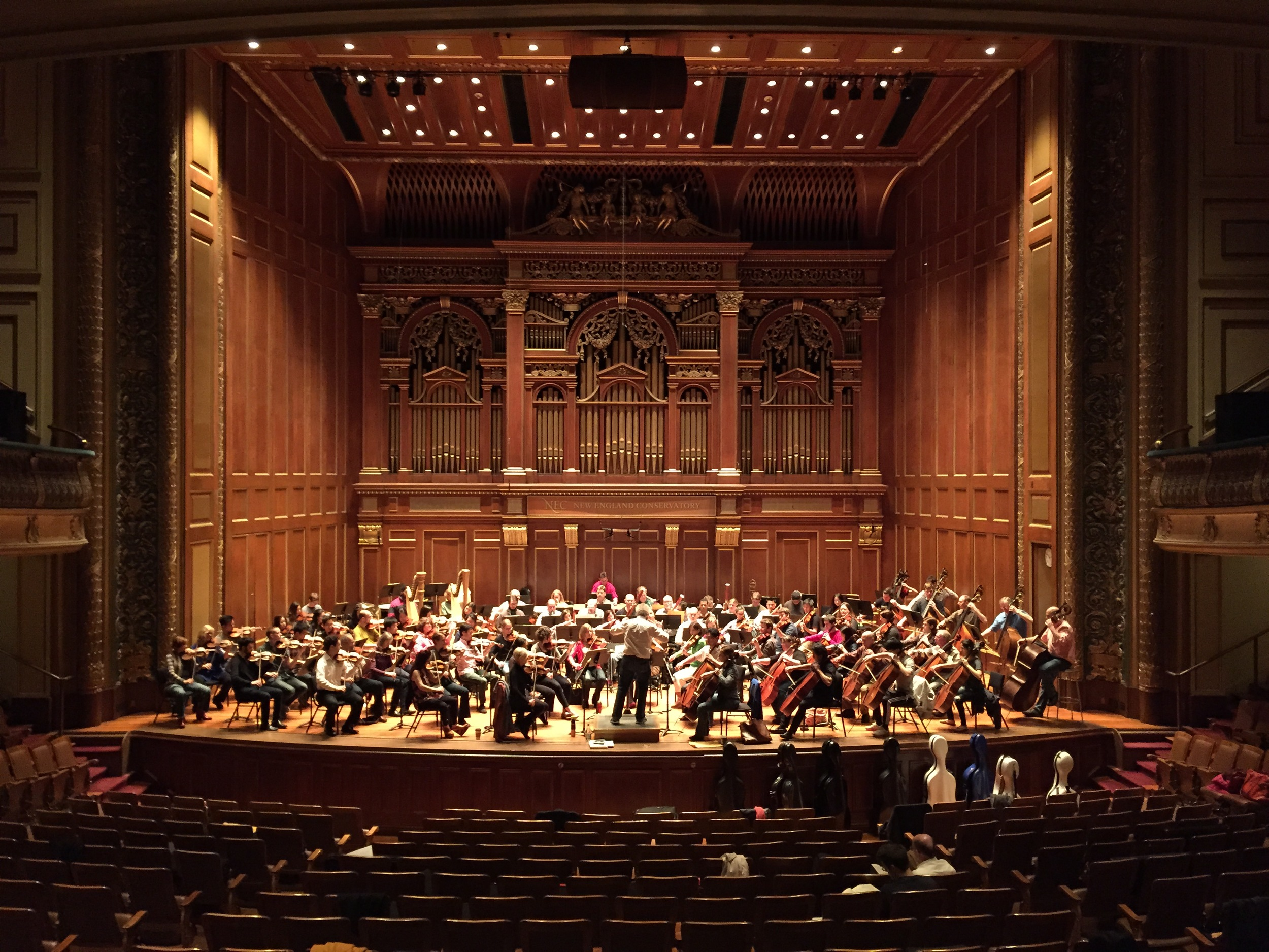 New England Conservatory Jordan Hall.