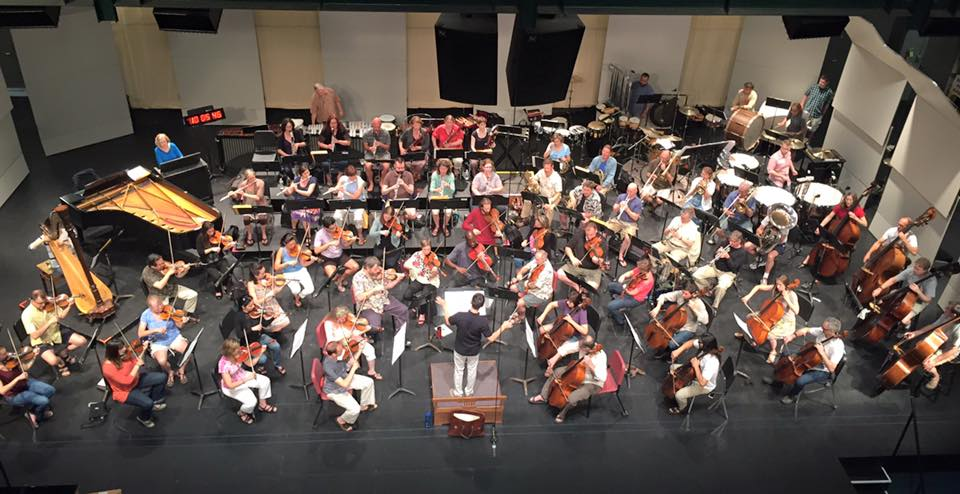 NH Music Festival playing Bernstein's Symphonic Dances from West Side Story.