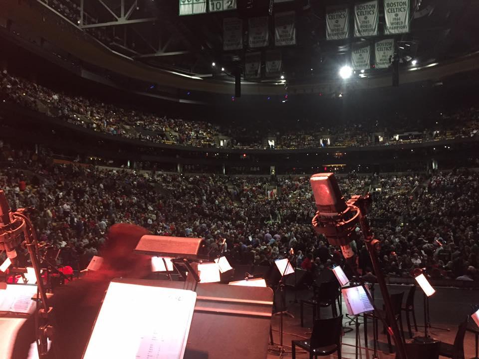 Andrea Bocelli Crowd at the Boston Garden.