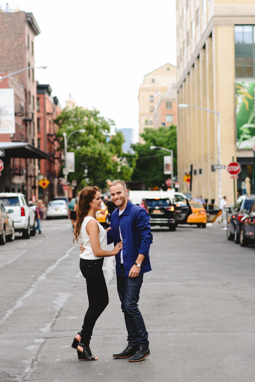 Non-cheesy NYC Engagement Photographer