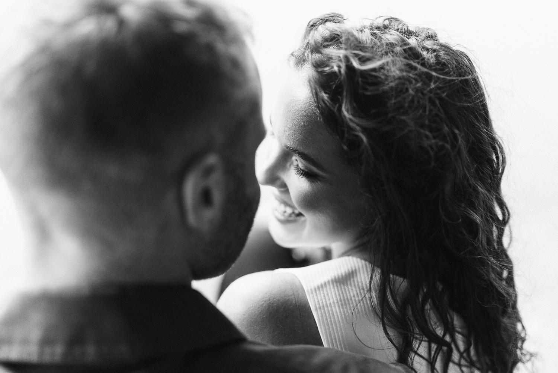 Non-cheesy Highline Engagement Photos
