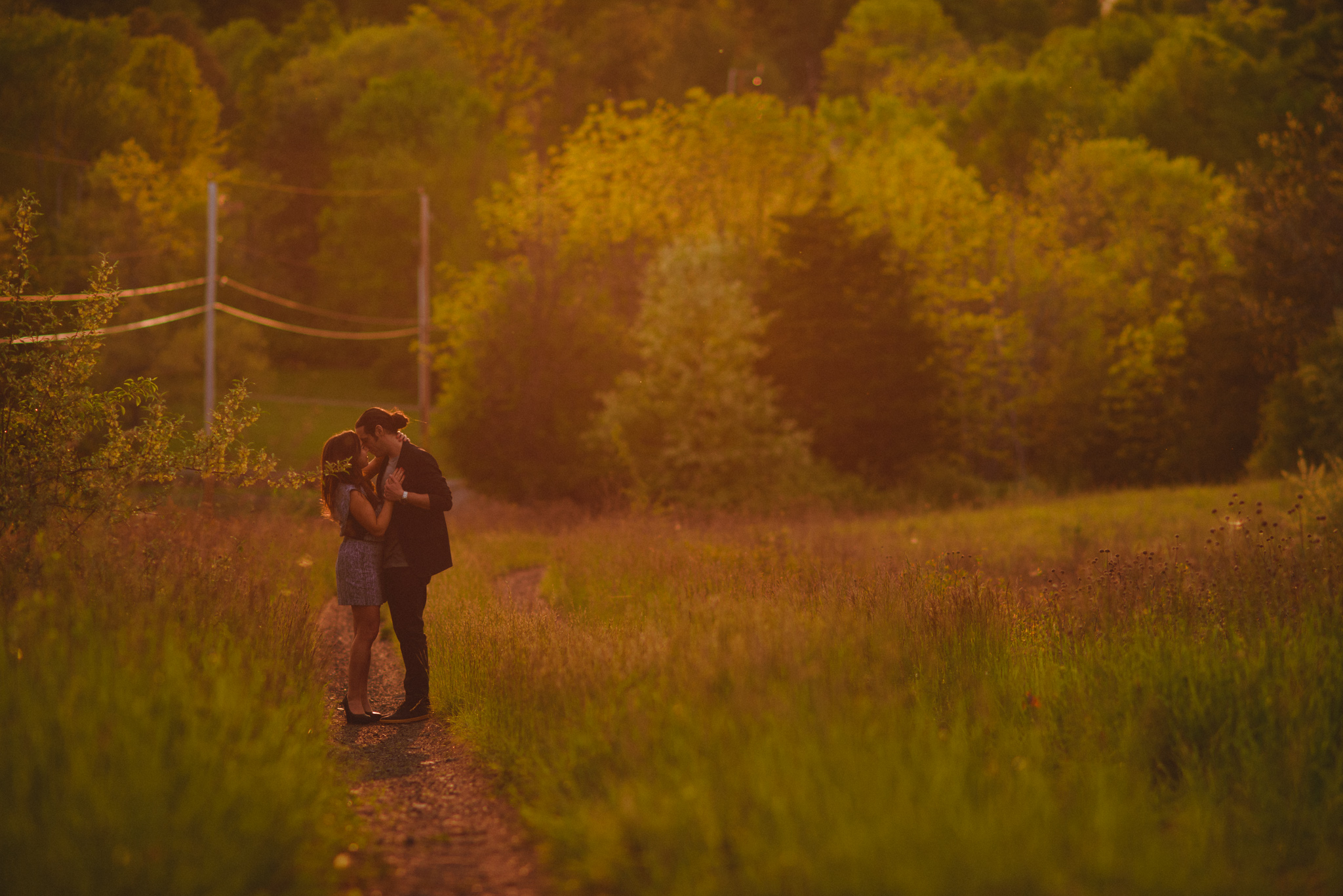 And this is why I love the golden hour in New Paltz. The colors are like nowhere else and make everything extra romantic.