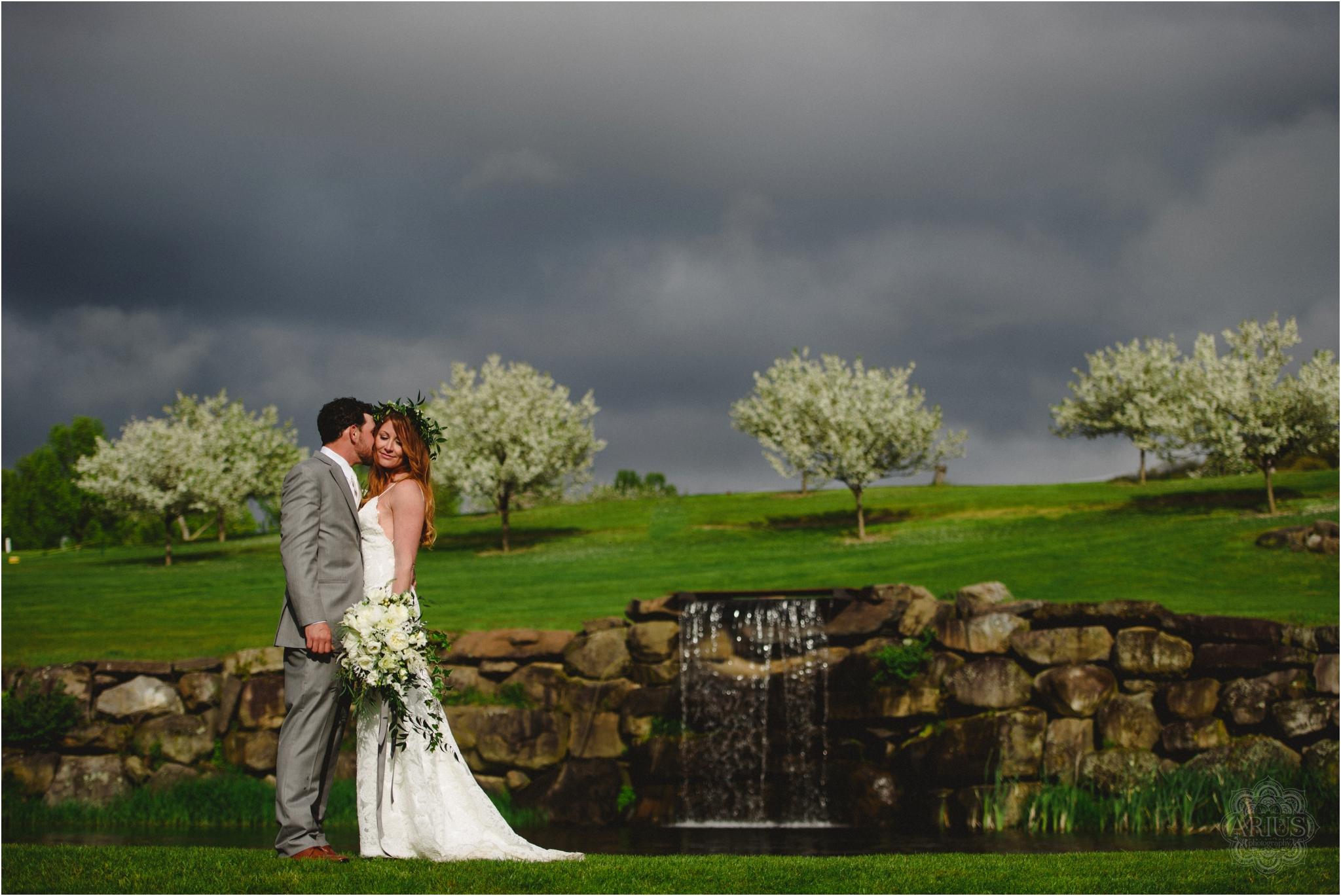 Apple Greens Wedding, Hudson Valley Golf Course