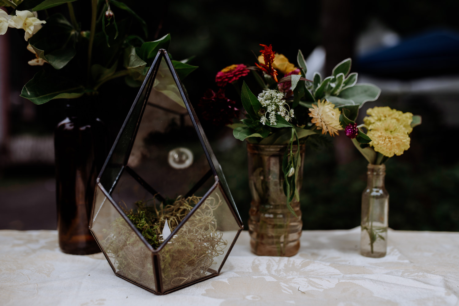 Shinglekill Falls Wedding with Boho Vintage vibe