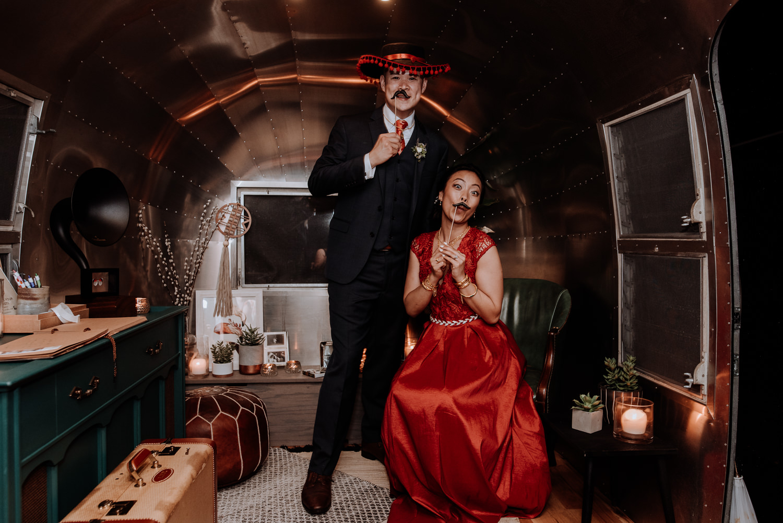 Red Maple Vineyard Wedding photo booth