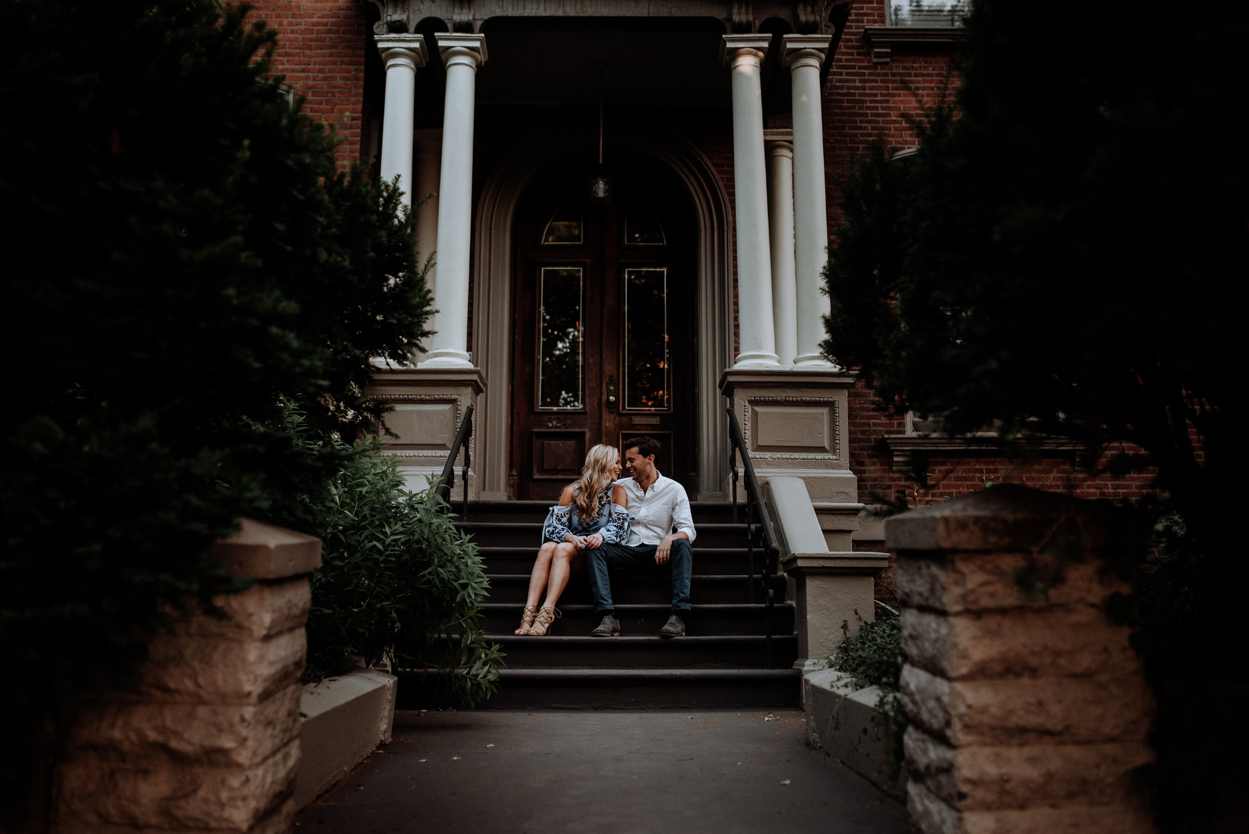Greenpoint Brooklyn Engagement Photos