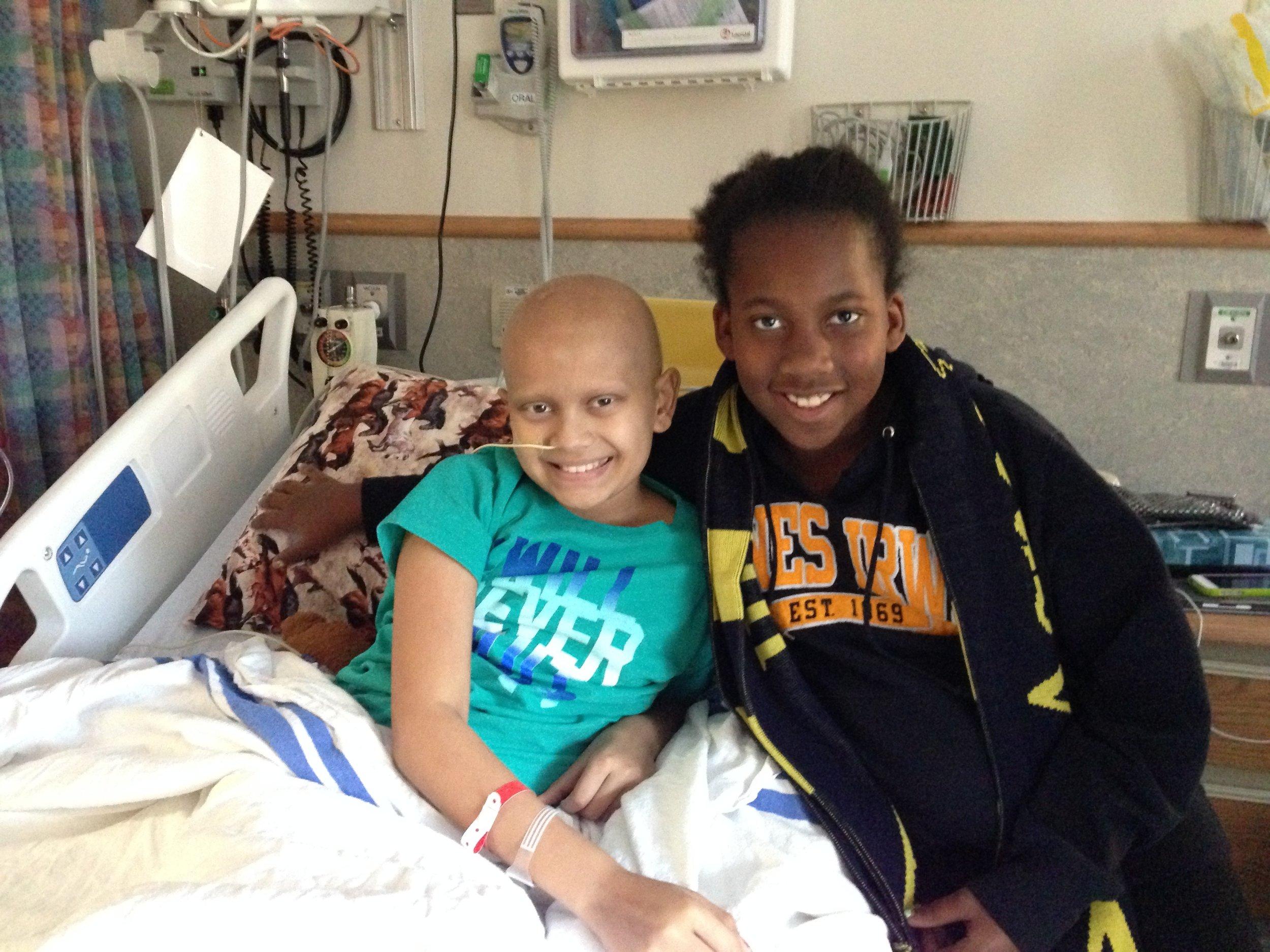 Naya (left)and Logan (right) - 2013