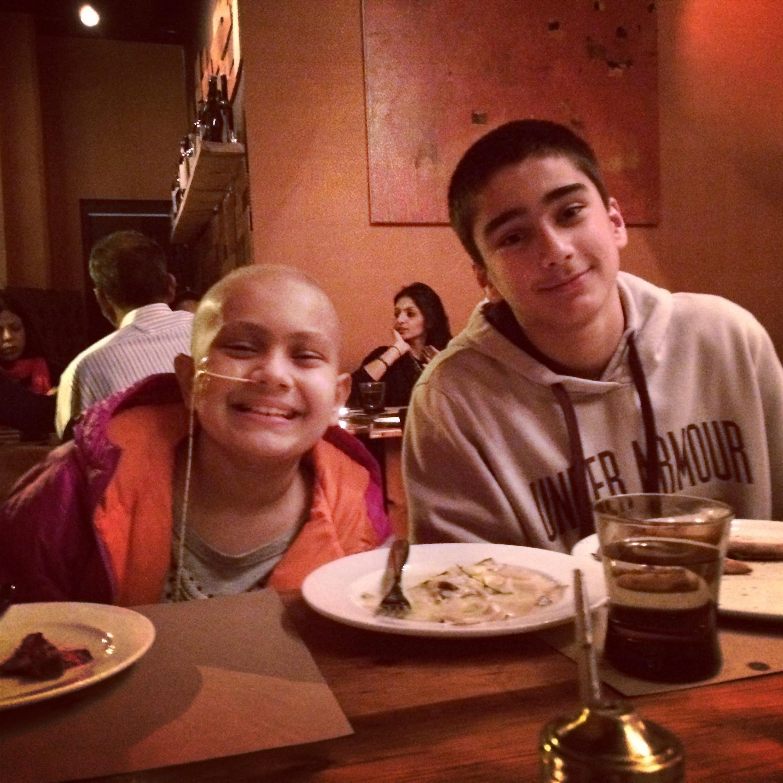 Zak's birthday - February 14, 2014
