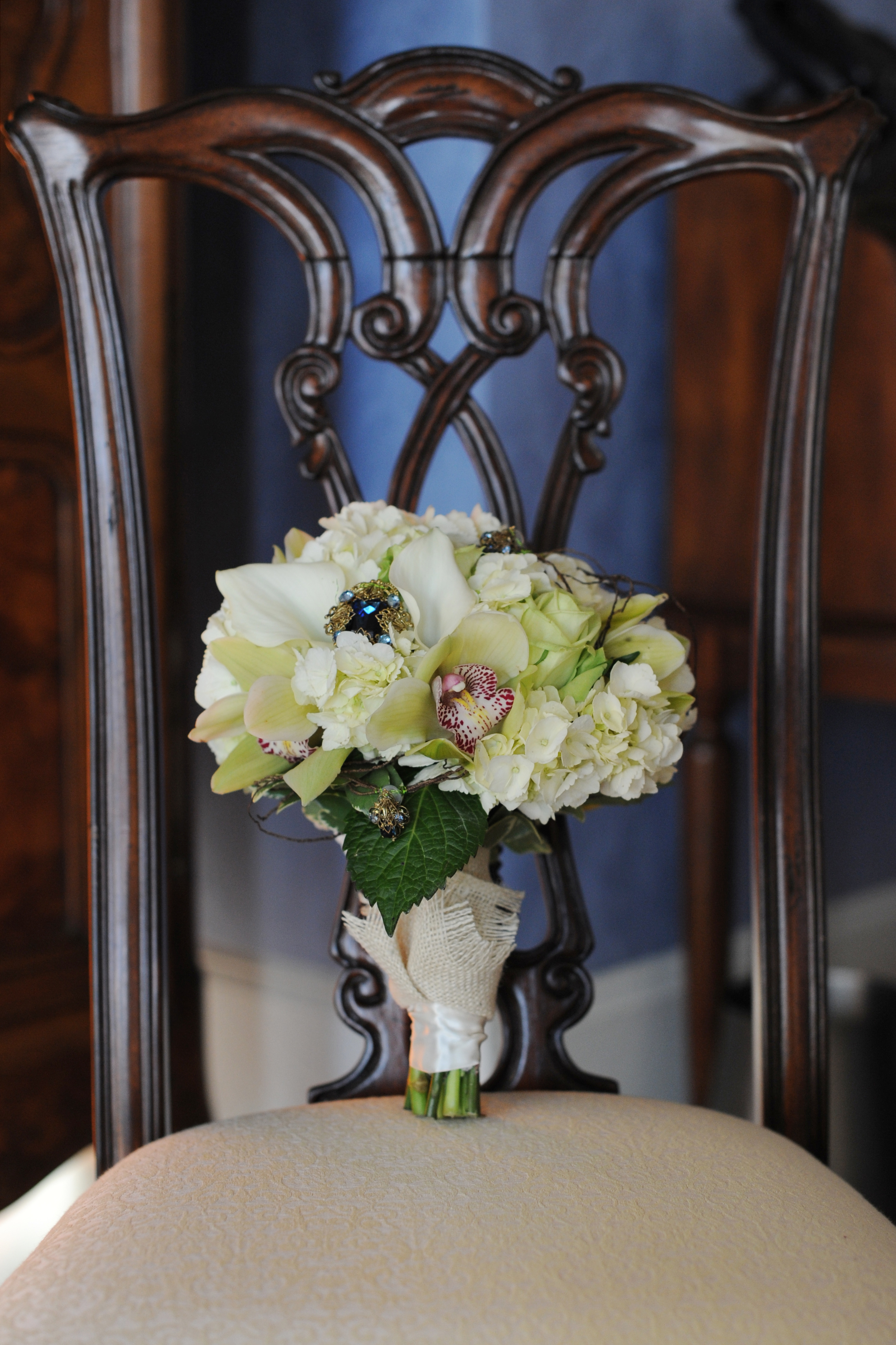 Rustic Blue & Green, Pratt Place Inn & Barn, Rachel Blackwell Photography, Details Weddings & Events, Bouquet